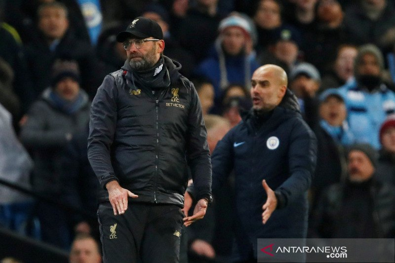 Liverpool vs Man City, laga awal penentuan juara