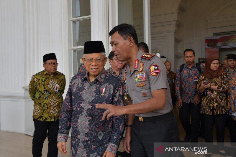 Wapres Ma'ruf Amin sebut isu khilafah jadi tantangan bangsa Indonesia