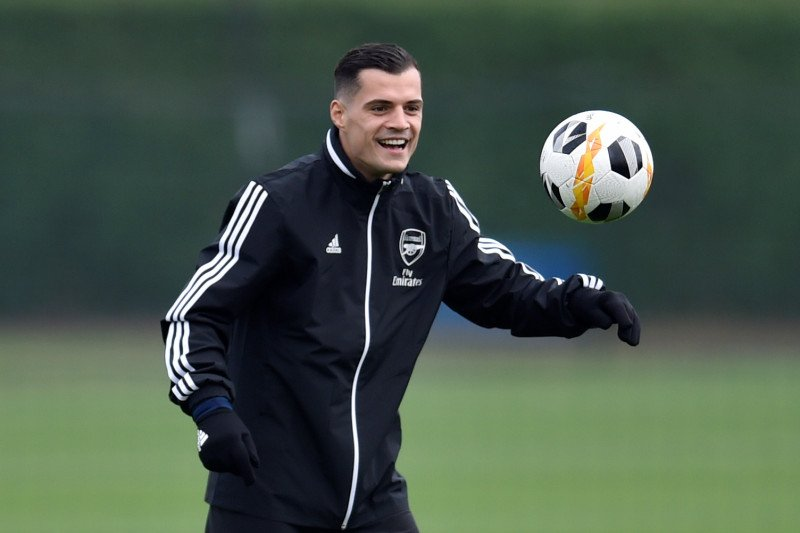 Emery ragu Xhaka bakal terus bersama Arsenal