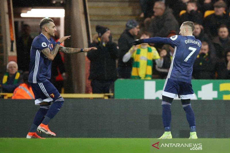 Watford akhirnya raih kemenangan perdana di Liga Inggris musim ini