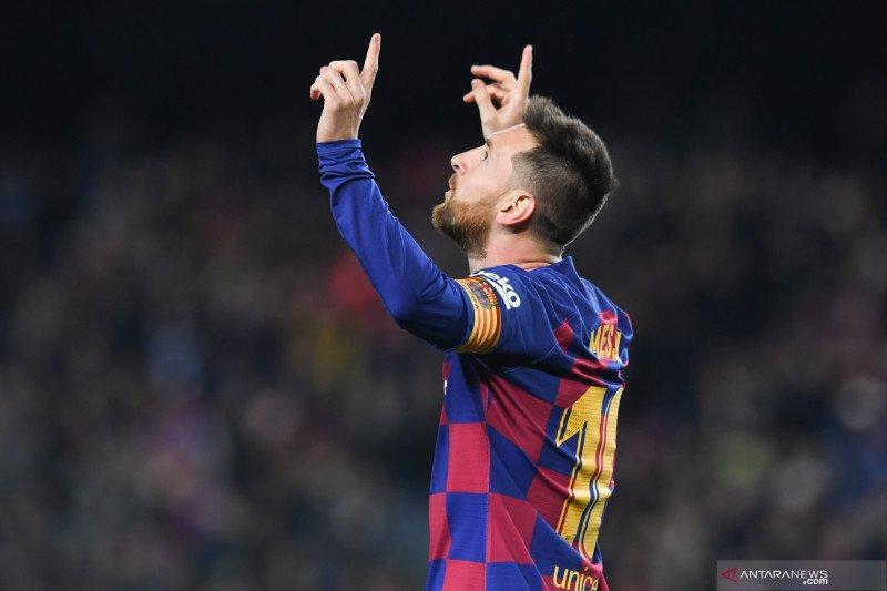 Valverde akui sulit untuk tidak bergantung kepada Messi