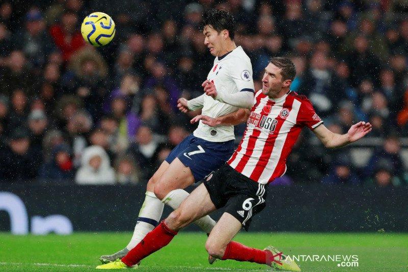 Liga Inggris, Tottenham seri lawan Sheffield United 1-1