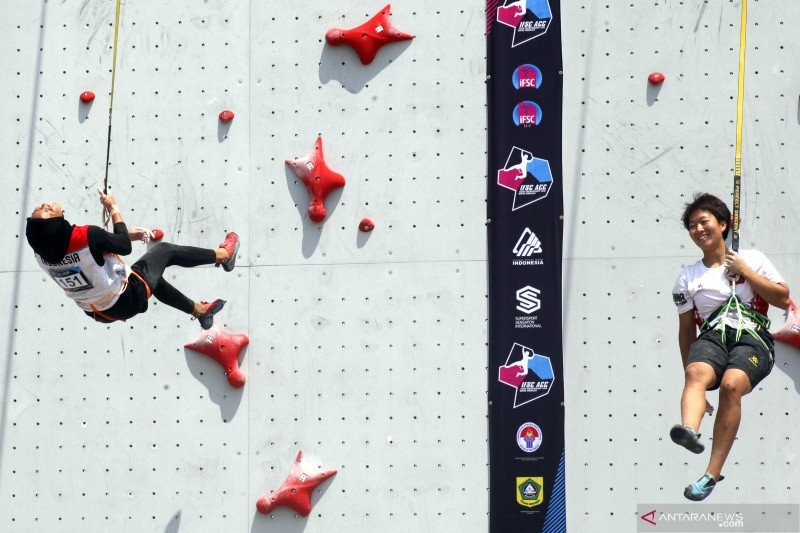 Dampak COVID-19, peluang Indonesia tuan rumah kejuaraan panjat tebing Asia tertutup