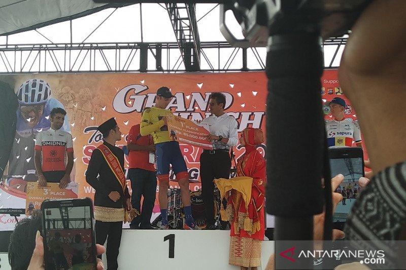 Jesse Ewart jawara Tour de Singkarak 2019