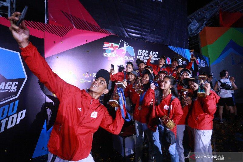 Peluang tim panjat tebing Indonesia tampil di Olimpiade tipis