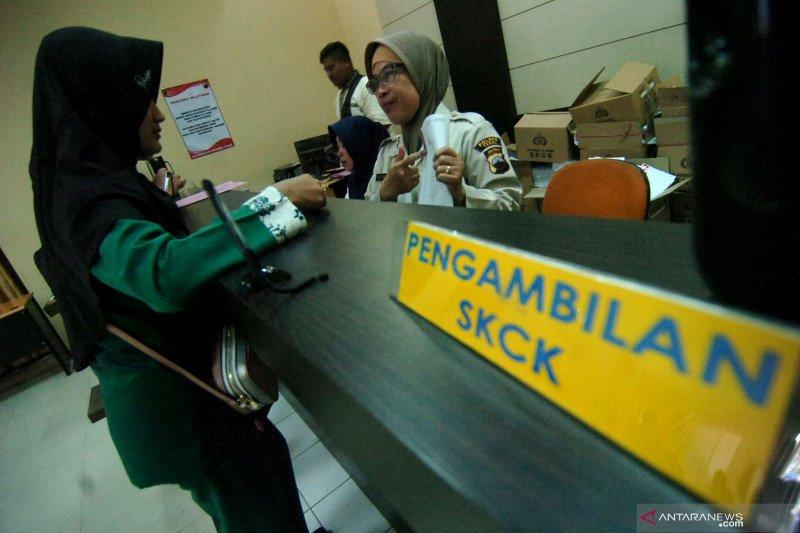 Pelayanan pembuatan SKCK di Polresta Padang tutup