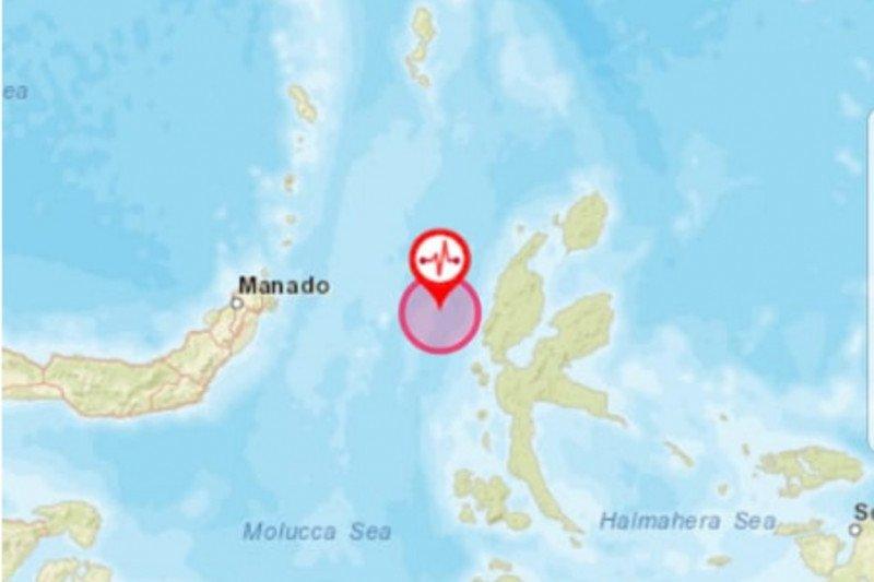 Gempa magnitudo 5,9 getarkan barat laut Jailolo-Malut