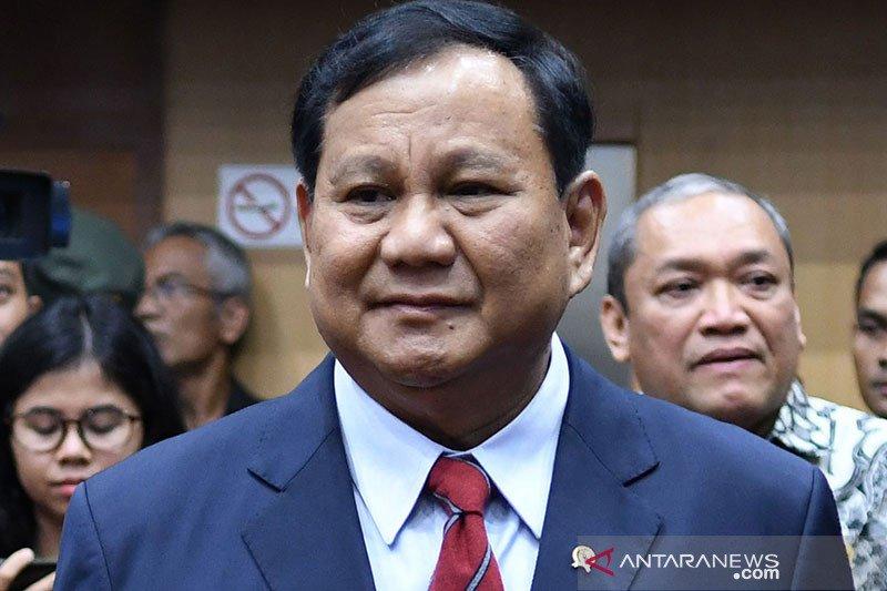 Prabowo paling banyak dibicarakan warganet dalam 100 hari kerja Kabinet