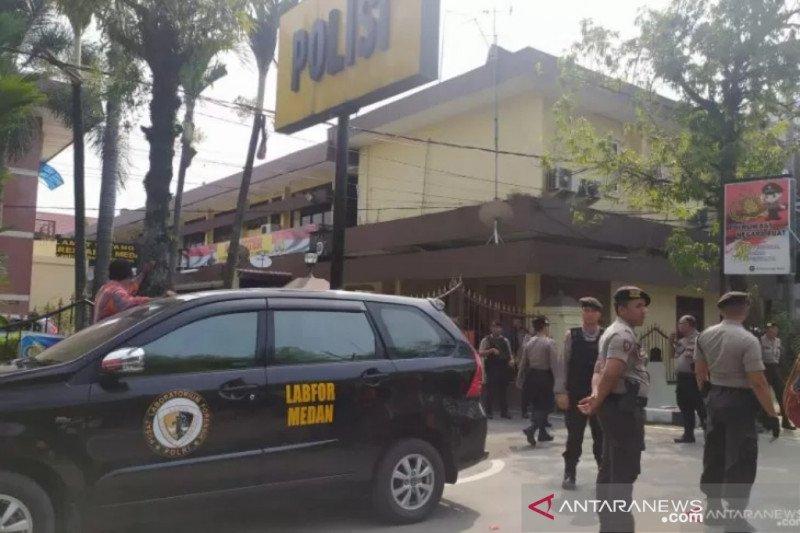 Bom medan - satu anggota kepolisian terluka