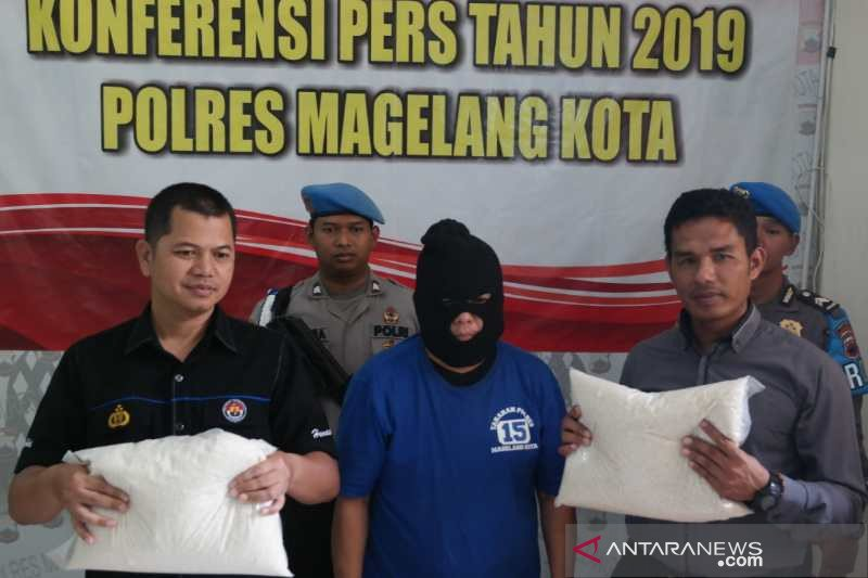 Pelaku penipuan pembelian beras ditahan