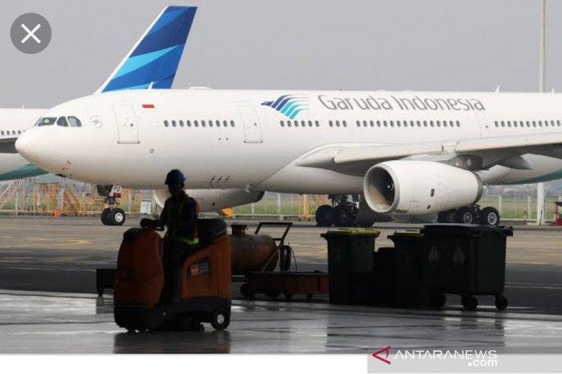 Garuda alihkan penerbangan ke Eropa dari ruang udara Iran