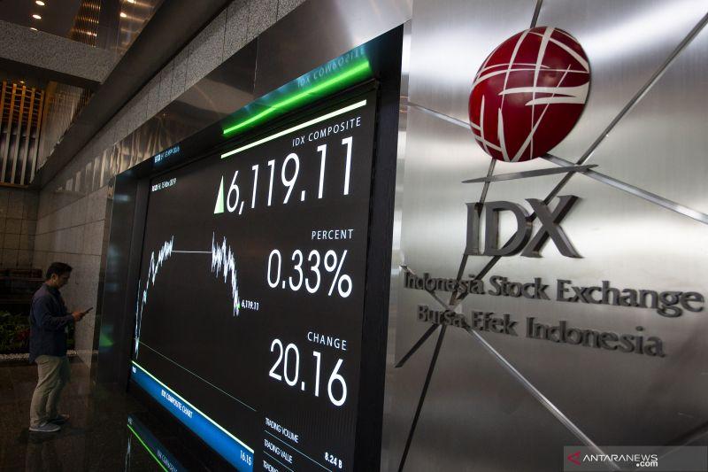IHSG BEI akhir pekan menguat ikuti naiknya bursa global