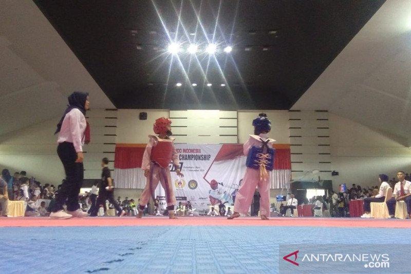 1.096 atlet bersaing di kejuaraan Taekwondo Andalan Pekanbaru, begini penjelasannya