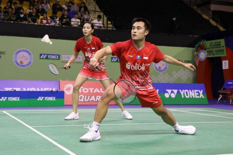 Hafiz/Gloria tantang unggulan ke-empat di Semifinal Hong Kong Open