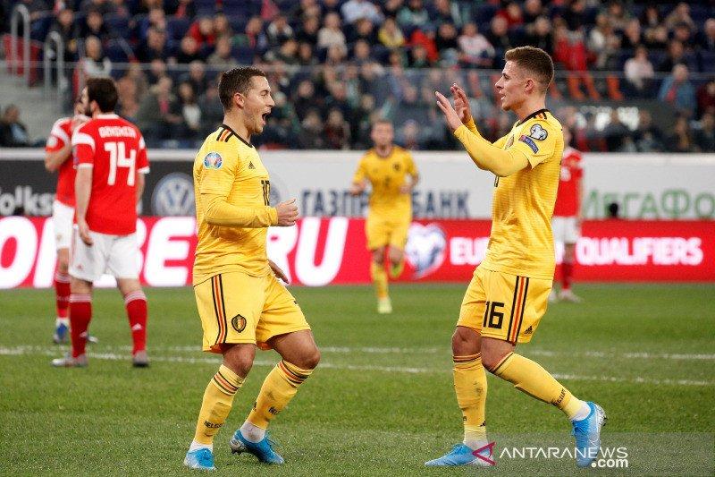 Hazard bersaudara sempurna untuk Belgia