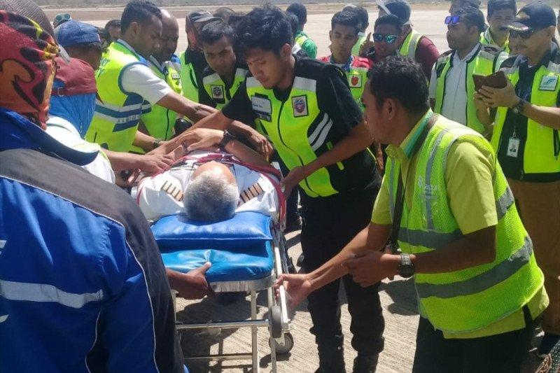 Pilot Batik Air lemas dan mendarat darurat di Kupang