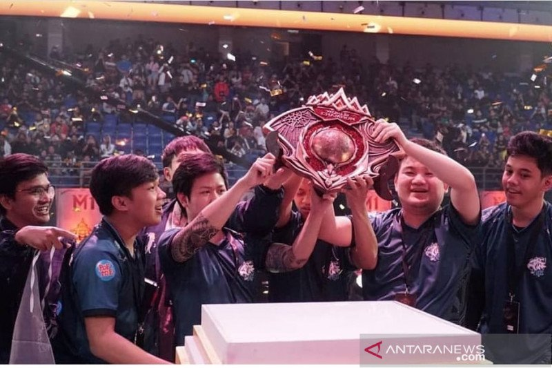 Indonesia mencatat juara dunia Mobile Legends M1 World Championship