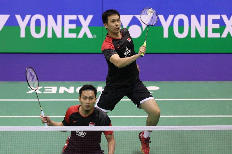 Dua wakil Indonesia masuk final Hong Kong Open 2019