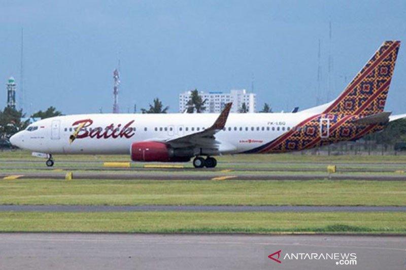 Penerbangan perdana Batik Air Surabaya-Madinah