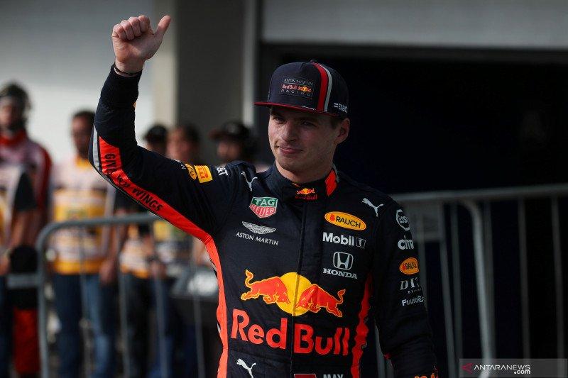 Verstappen raih pole position  Grand Prix Brazil