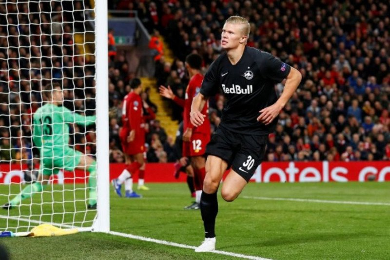 Erling Haaland bertekad kubur Liverpool di Liga Champions