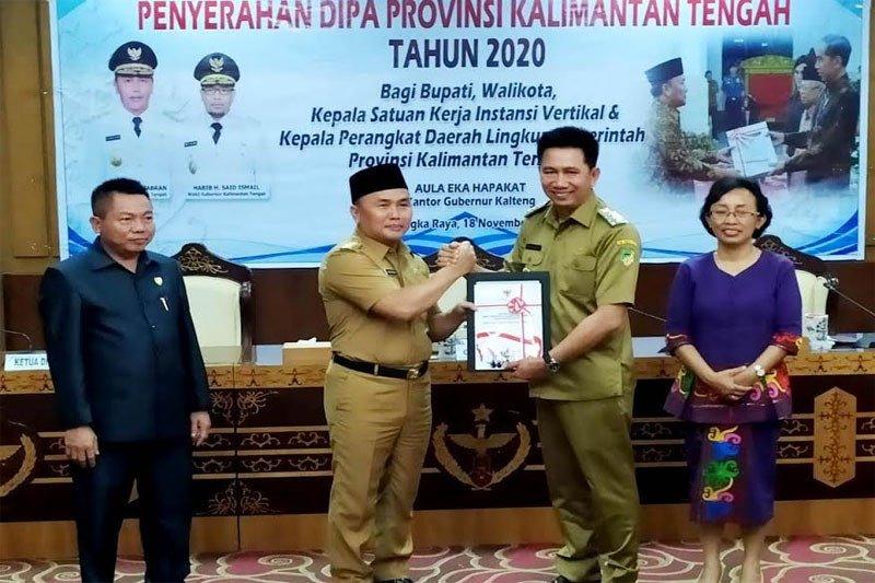 Bupati Barito Utara terima DIPA 2020