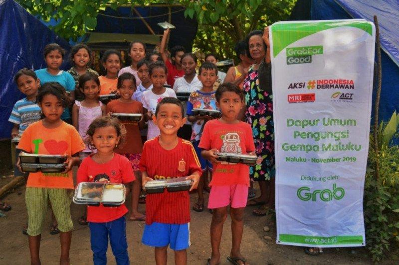 Kolaborasi Grab Indonesia bersama ACT bantu ribuan penyintas gempa Maluku