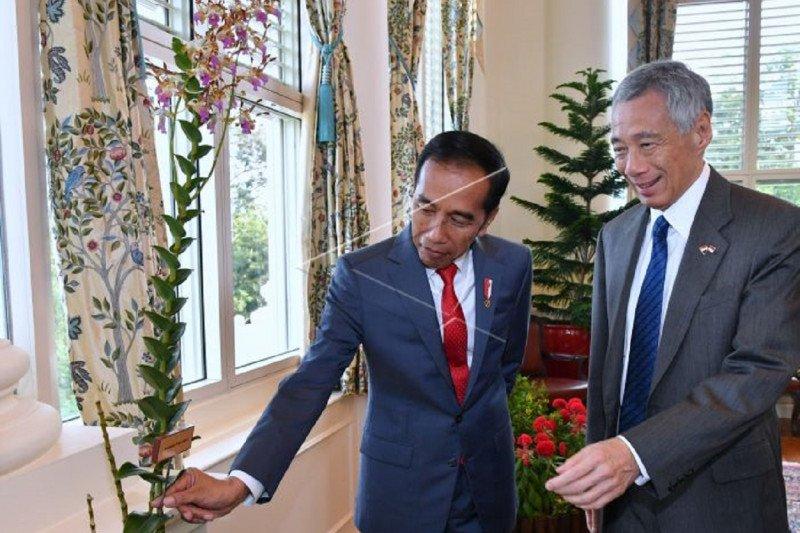 Cuitan @jokowi tunjukkan kedekatan hubungan dengan negara serumpun