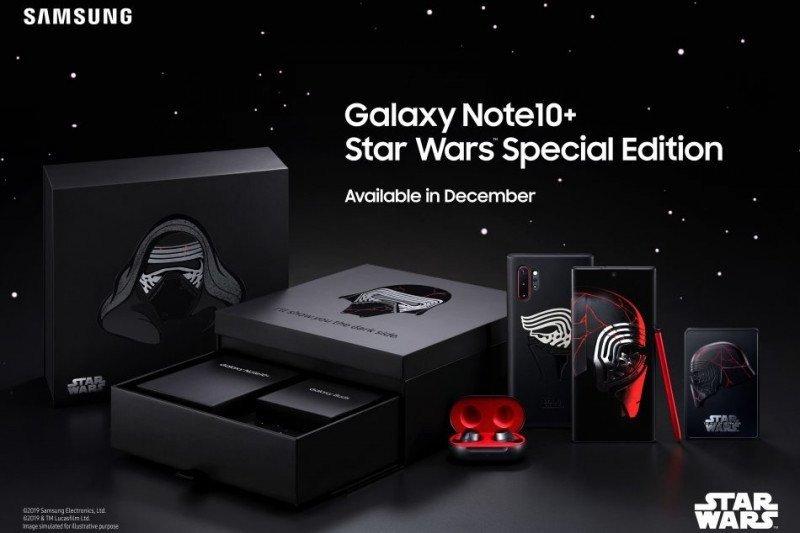 Samsung akan luncurkan ponsel pintar Galaxy Note10+ edisi Star Wars
