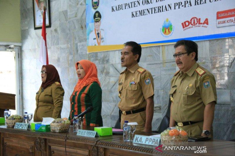 Dinas PPPA Ogan Komering Ulu kejar  predikat Kabupaten Layak Anak