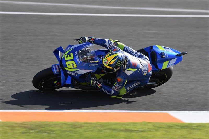 Tes pramusim Valencia, tim Suzuki sebut kompetitif dengan mesin baru