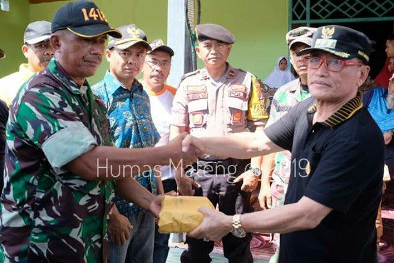17 rumah di Mamuju Tengah rusak dilanda puting beliung