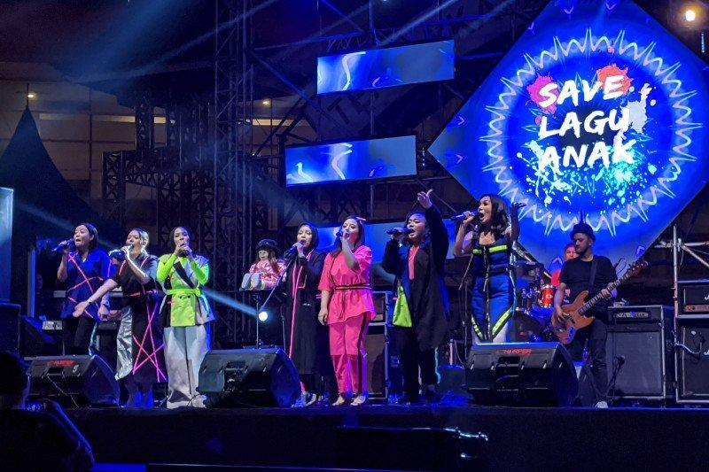 Sejumlah mantan penyanyi cilik usung lagu anak dalam 90's Festival
