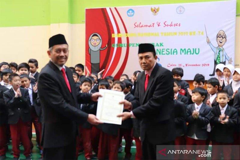 "Guru SMAN 1 Muara Teweh mengajar di Mesir dapat penghargaan ""Guru Hebat"""
