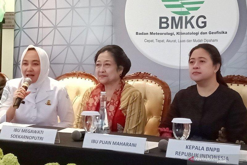Megawati mendorong penanganan bencana masuk kurikulum sekolah
