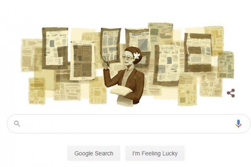 Google Doodle rayakan HUT Ani Idrus yang ke-101