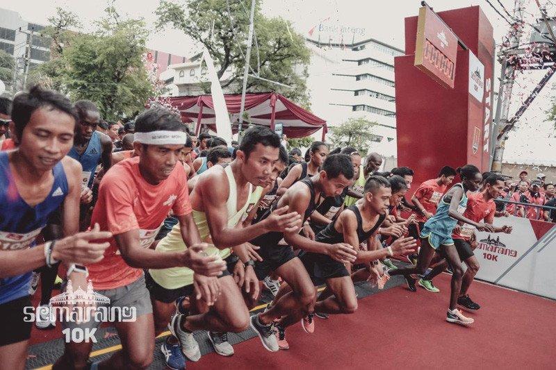 2.000 pelari bakal adu cepat pada Semarang 10K
