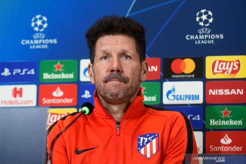 Terkait situasi sulit Griezmann di Barcelona, Diego Simeone bungkam