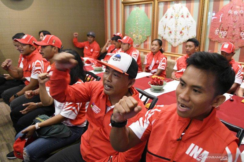 Rendang jadi senjata tim balap sepeda Indonesia pada SEA Games 2019 di Filipina
