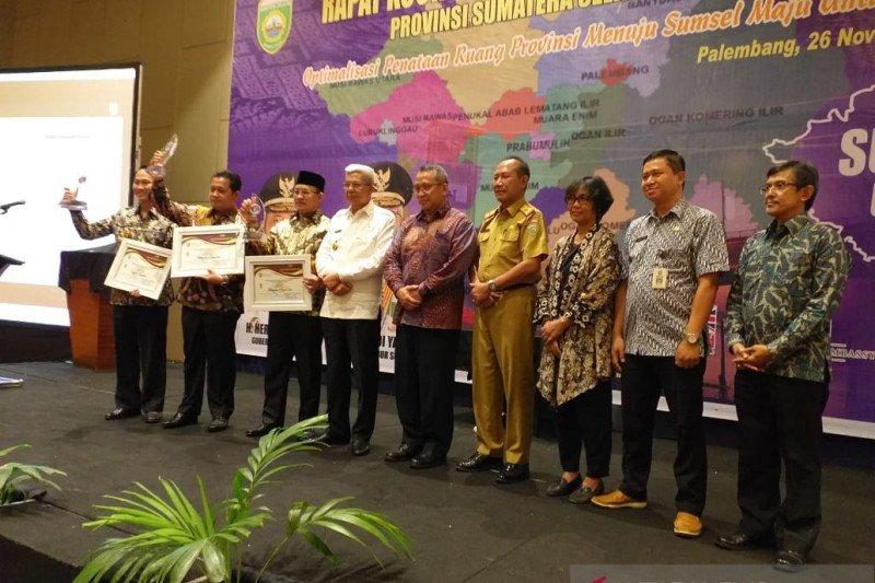 Dua kabupaten di Sumatera Selatan revisi rencana tata ruang