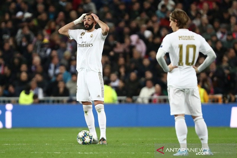 PSG rusak pesta Real Madrid di Santiago Bernabeu