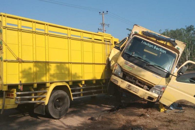 Kecelakaan terjadi di depan RSUD Tubaba