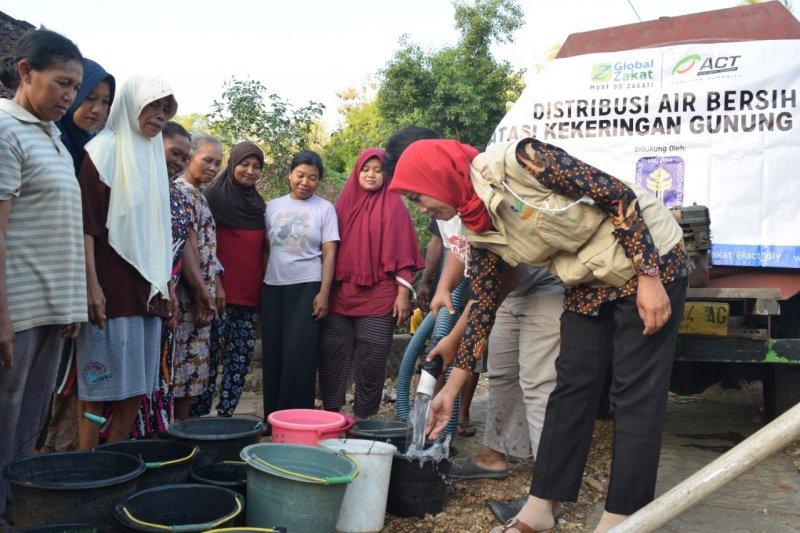 BPBD Gunung Kidul kirim air bersih bagi warga terdampak kekeringan Juni
