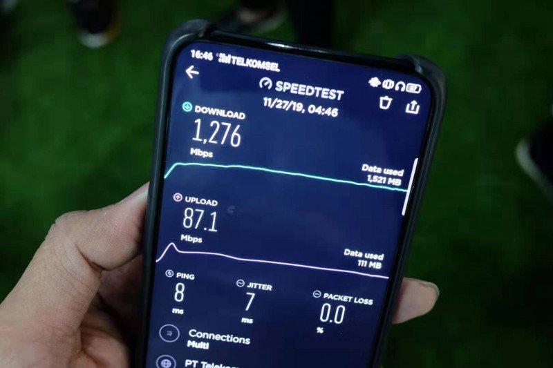 Oppo uji coba panggilan 5G pertama di Indonesia
