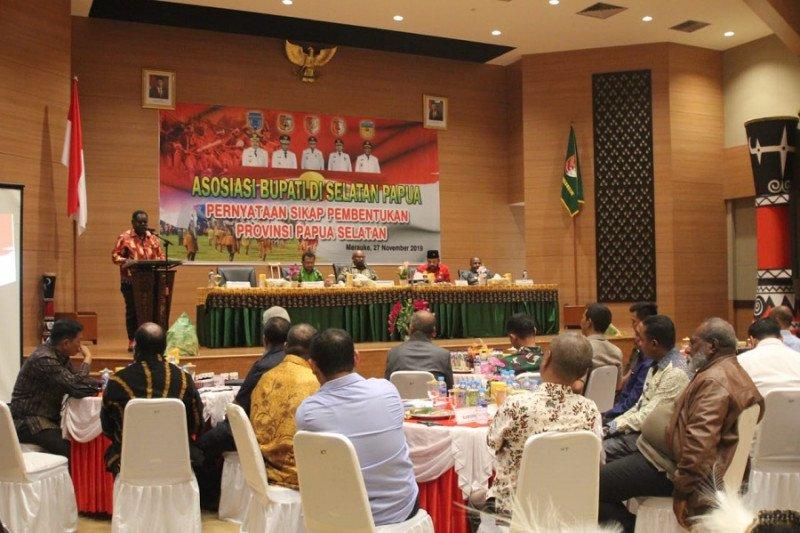 Lima kabupaten sepakat teruskan aspirasi pemekaran PPS ke DPR RI