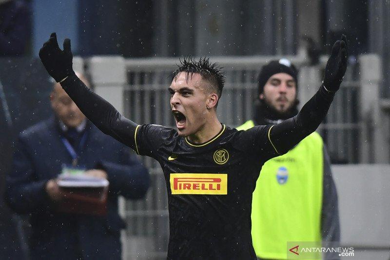Dwigol antar Inter ke puncak klasemen