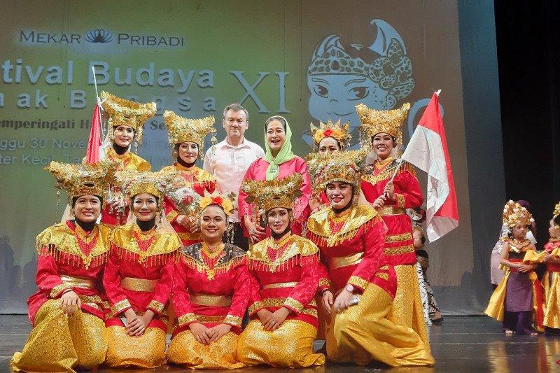 """Wayang wong"" Festival Anak Bangsa beri pesan semangat pada anak Indonesia"