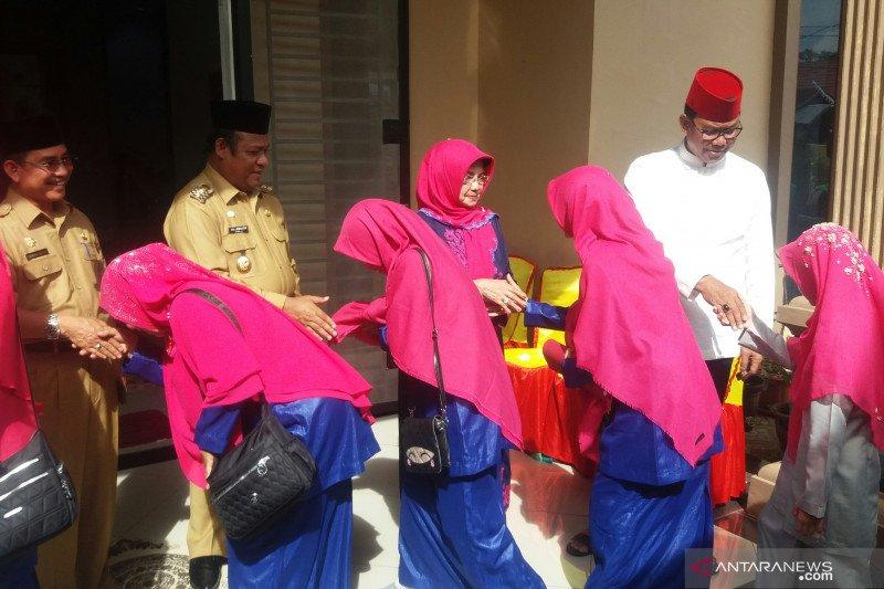 Raih juara III MTQ Riau, Bupati Rohil silaturahmi bersama kafilah