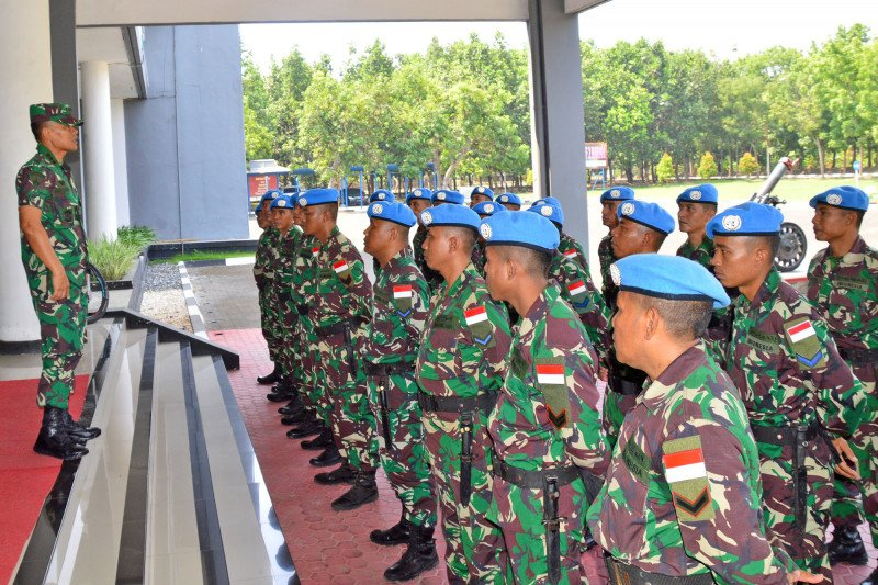 27 prajurit TNI Brigif Marinir 2 diberangkatkan ke Lebanon