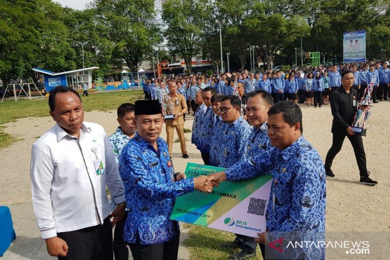 Anggota Korpri Manado telah dilindungi BP Jamsostek